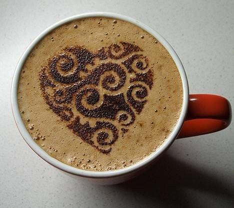 Латте-арт (малюнки на каві) - фото 16