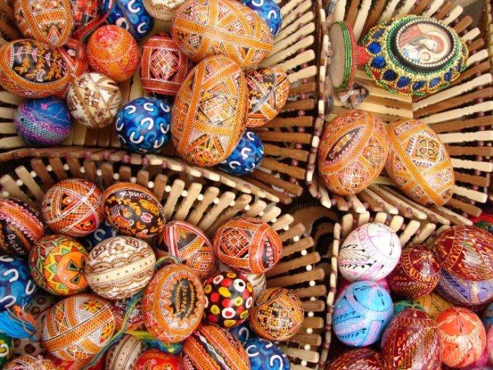 Пасхальные яйца, писанки, пасхальные поделки