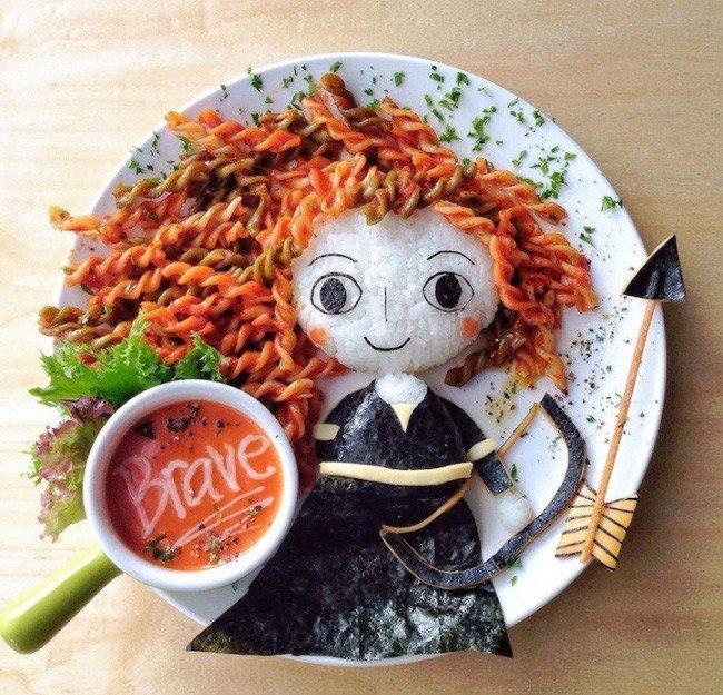 Картины из еды от Саманты Ли – фото 10