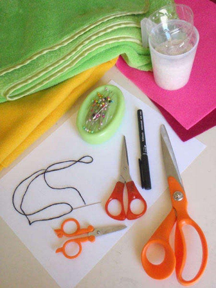 Изготовление игрушки-сплюшки