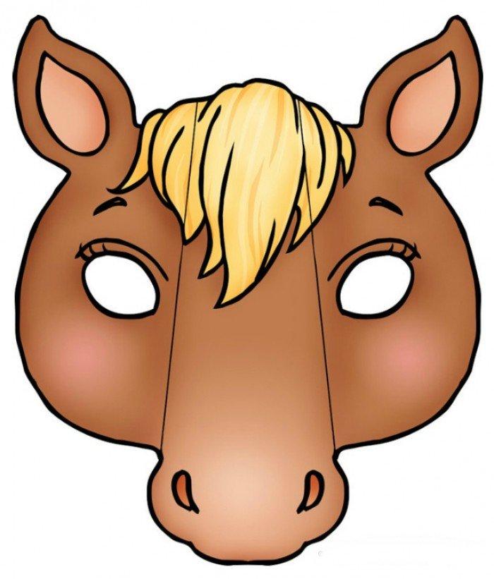 Маску лошади своими руками