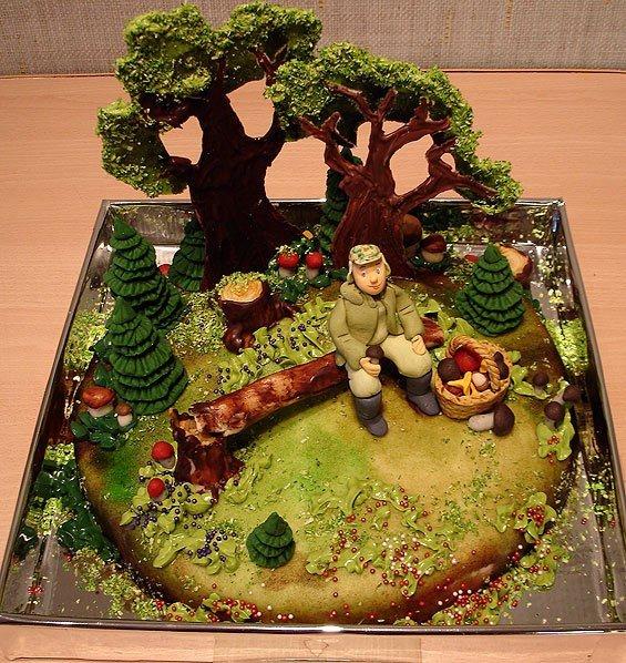 Оформлення тортів – фото