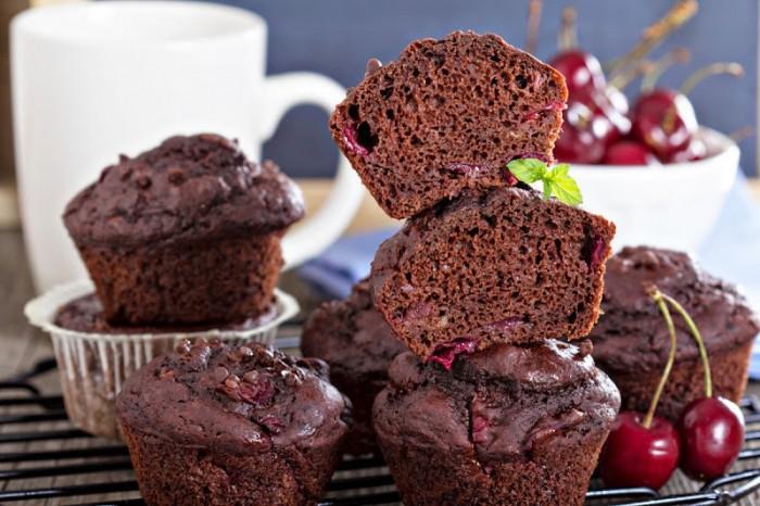 Рецепт шоколадних мафінів