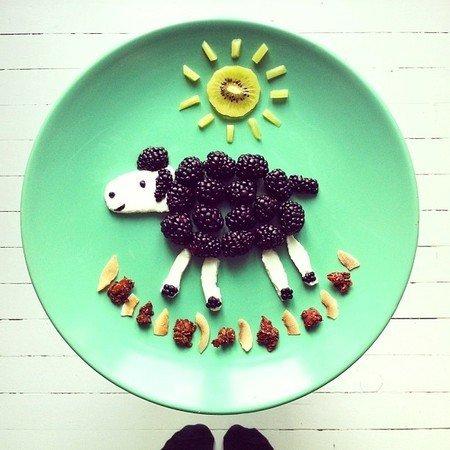 Креативные и полезные завтраки для детей - фото 10