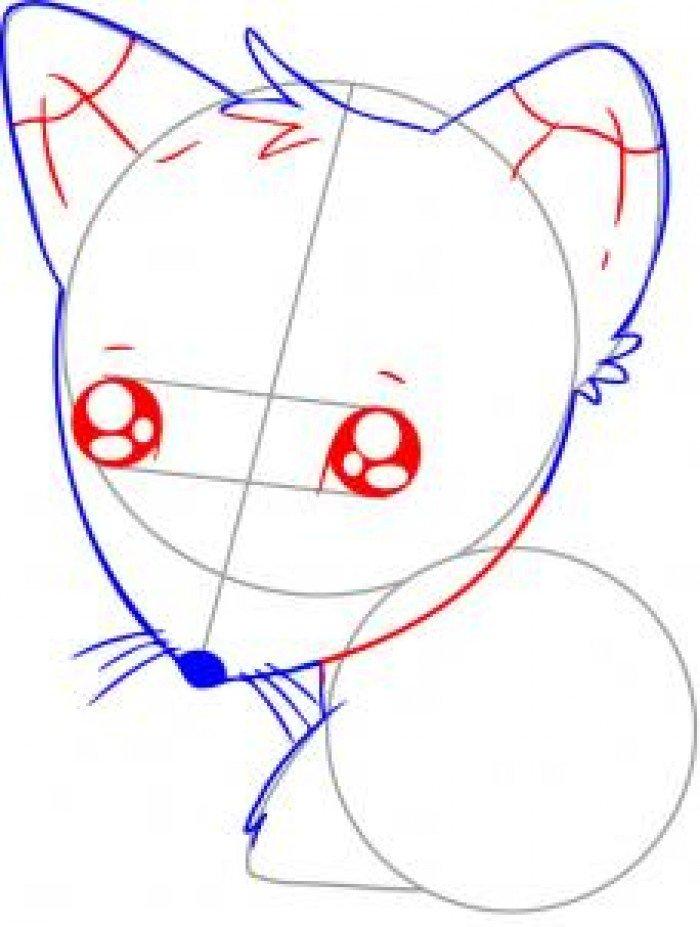 Як намалювати лисицю поетапно, фото 28
