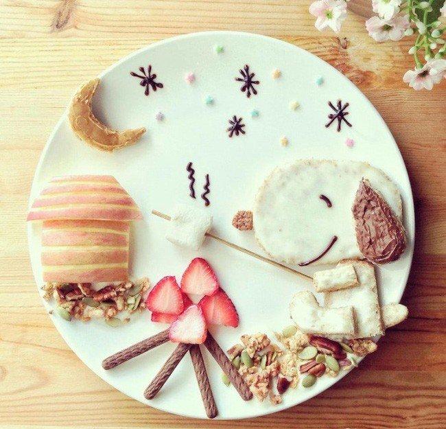 Картины из еды от Саманты Ли – фото 1