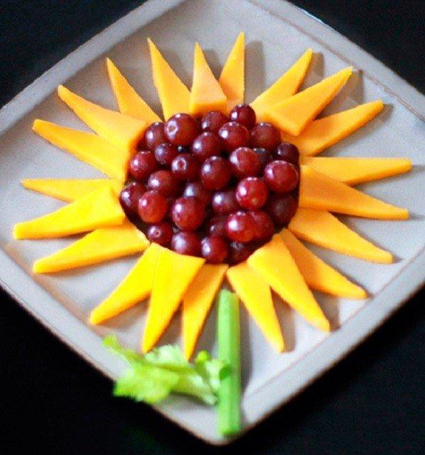 Как красиво подать фрукты к столу. Оформление фруктовой нарезки - фото 12