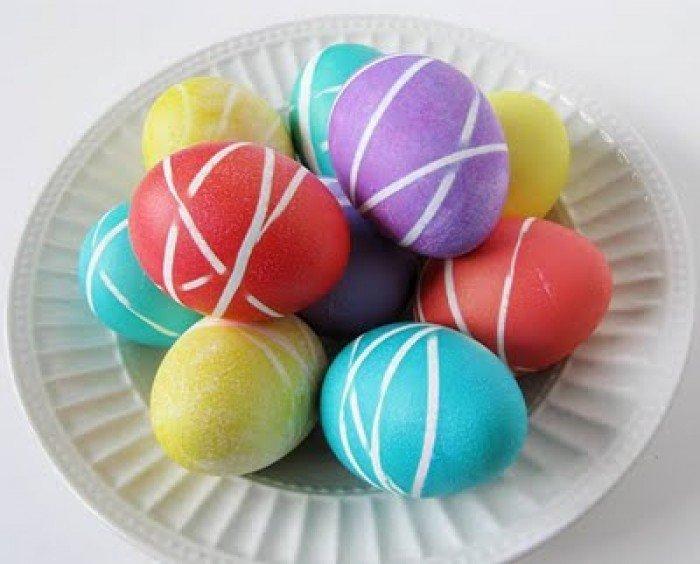 Як прикрасити великодні яйця креативно