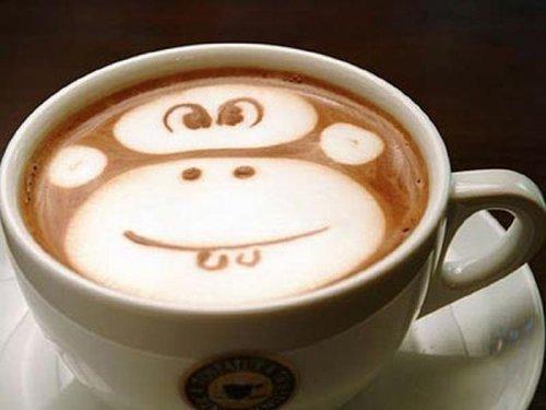 Латте-арт (рисунки на кофе) — фото 11