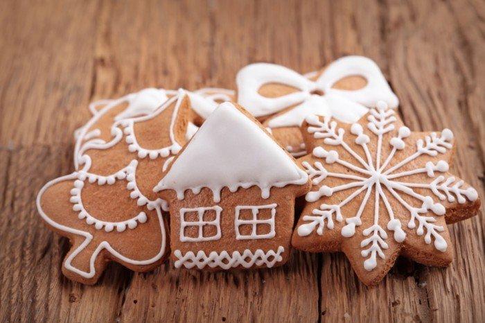 Вкусное новогоднее печенье с глазурью своими руками, фото 13
