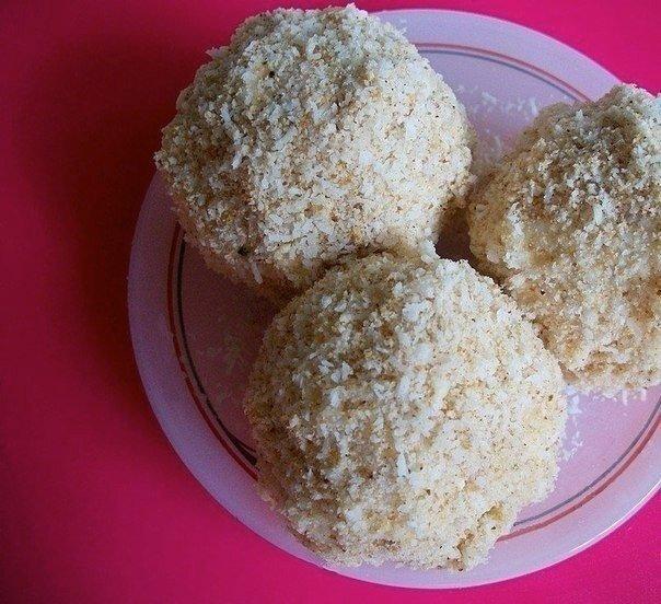 Конфеты рафаэлло с клубникой – рецепт, фото 7