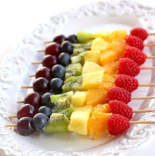 Как красиво подать фрукты к столу. Оформление фруктовой нарезки - фото 8