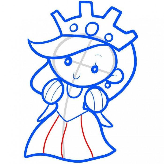 Как нарисовать принцессу, фото 16