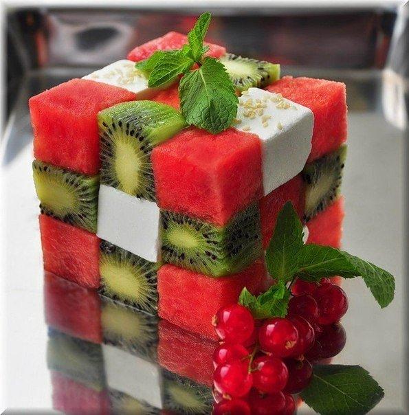 Как красиво подать фрукты к столу. Оформление фруктовой нарезки - фото 19
