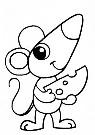 Як намалювати мишу, фото 16