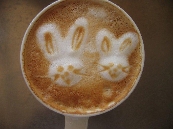 Латте-арт (малюнки на каві) - фото 13