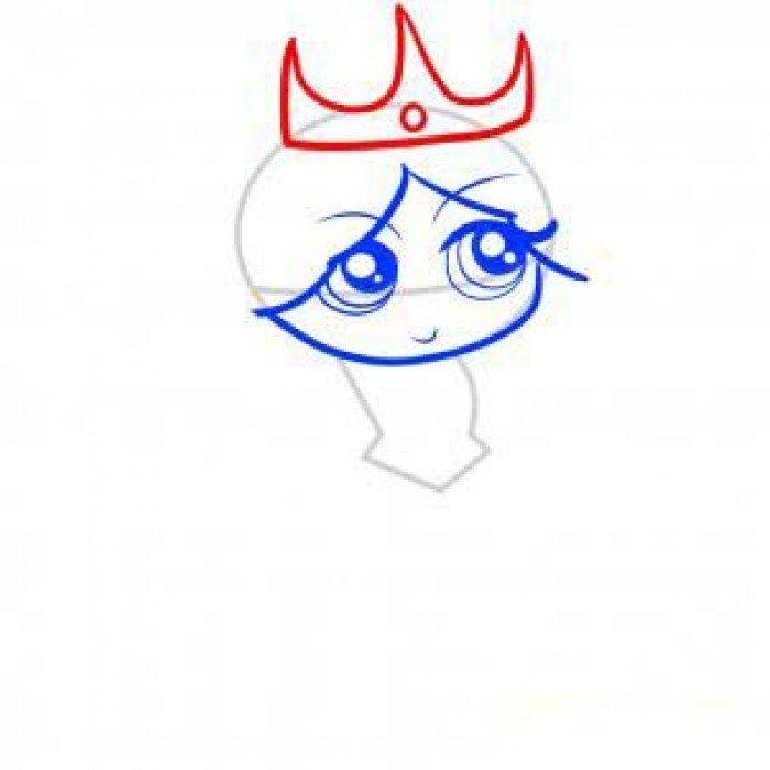 Как нарисовать принцессу, фото 5