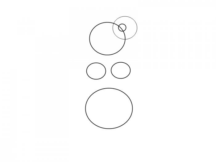Як намалювати смішну русалочку, схема 3, крок 4