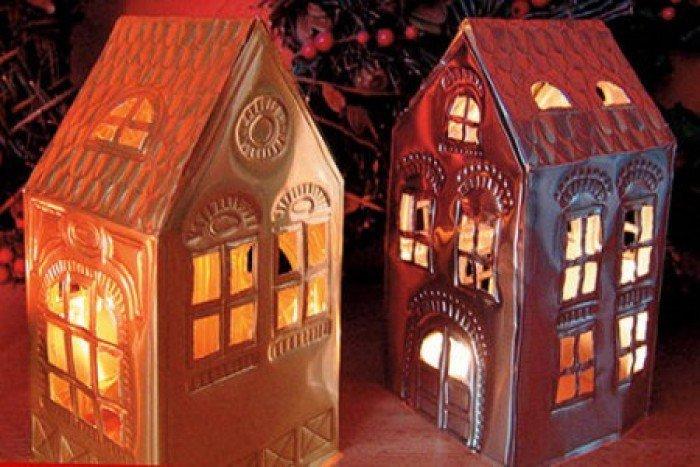 Хрустальный дом своими руками