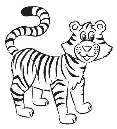 Як намалювати тигреня поетапно, фото 5