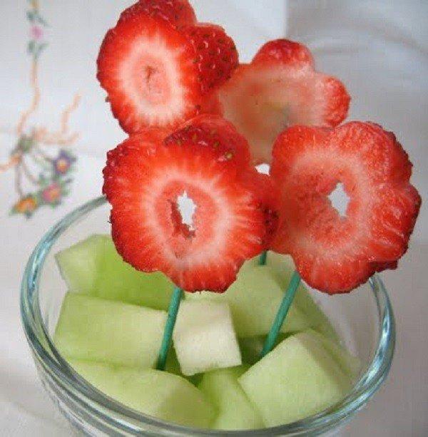 Как красиво подать фрукты к столу. Оформление фруктовой нарезки - фото 14