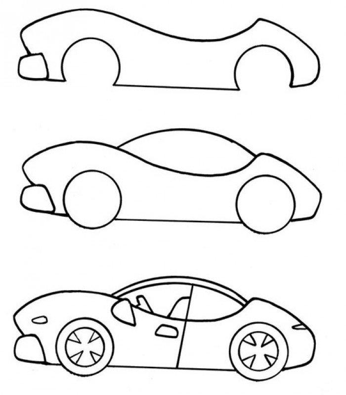Як намалювати автомобіль
