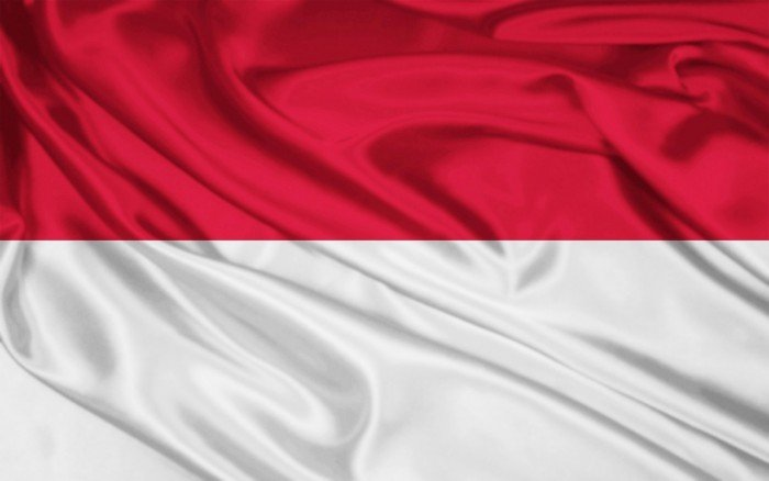 Национальный флаг Индонезии