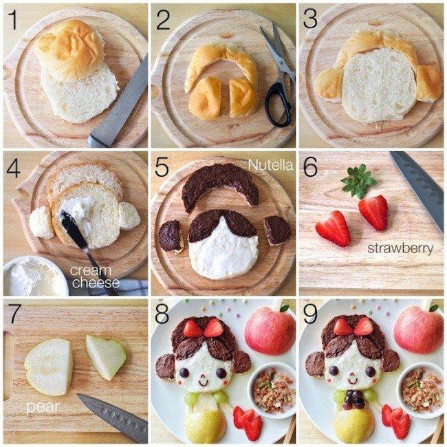 Картины из еды от Саманты Ли – фото 14
