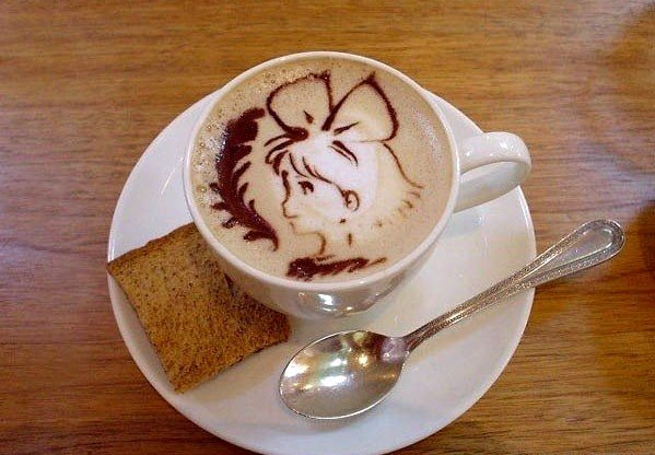 Латте-арт (малюнки на каві) - фото 1