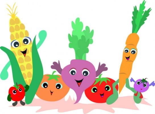 Учимся рисовать фрукты и овощи
