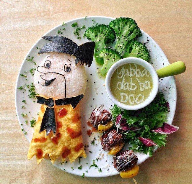 Картины из еды от Саманты Ли – фото 8