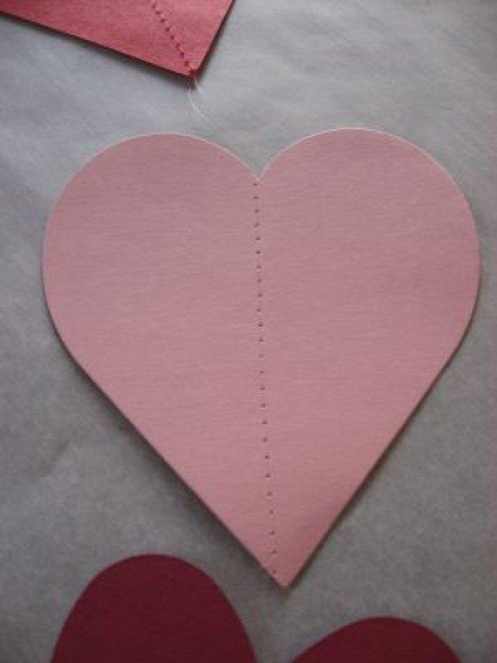 Валентинка з паперу своїми руками, фото 2