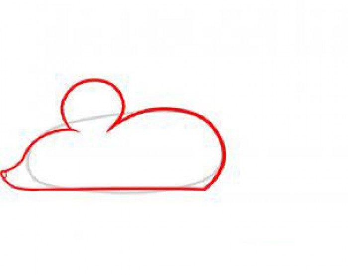 Як намалювати мишу, фото 24
