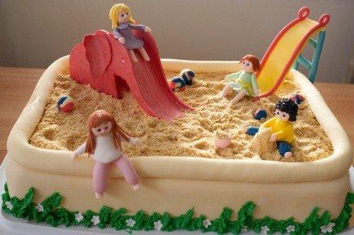 Детские торты – фото