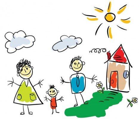 Рисуем семью