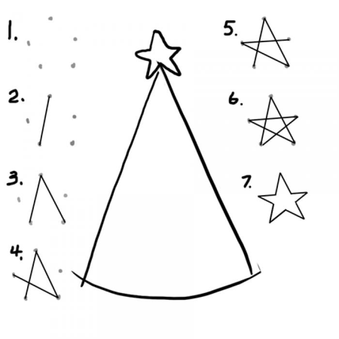 Как нарисовать елку, фото 4