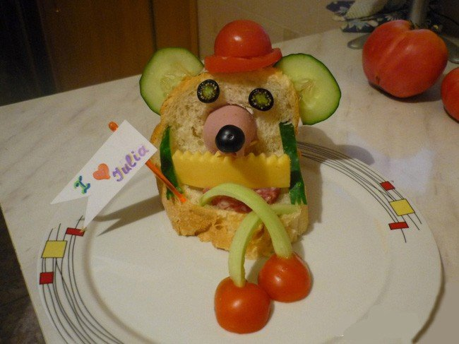 Интересные детские завтраки – фото 6