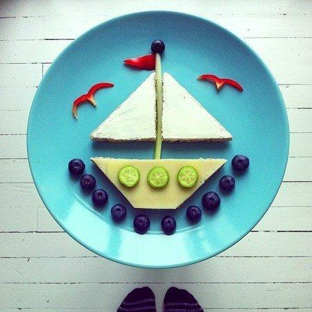 Креативные и полезные завтраки для детей - фото 13