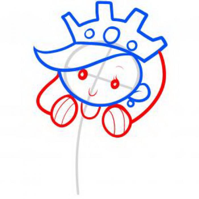 Как нарисовать принцессу, фото 14
