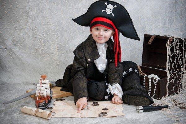 Как сделать из себя пиратку