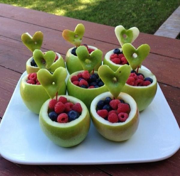 Как красиво подать фрукты к столу. Оформление фруктовой нарезки - фото 17