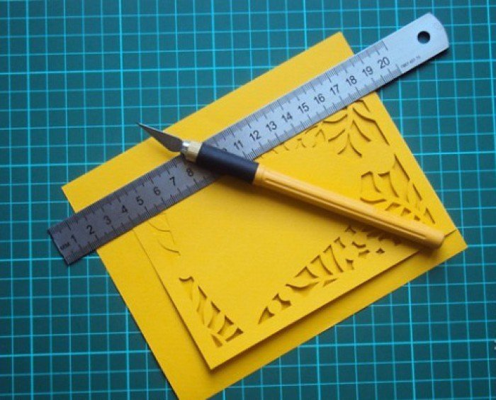 Листівка на 1 вересня своїми руками, фото 3