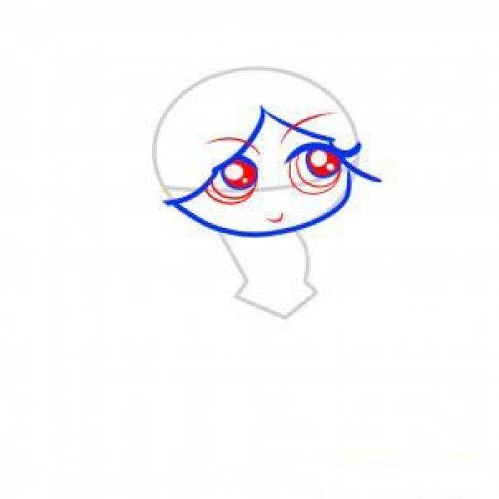 Как нарисовать принцессу, фото 4