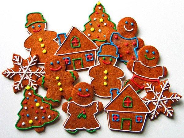 Вкусное новогоднее печенье с глазурью своими руками, фото 1