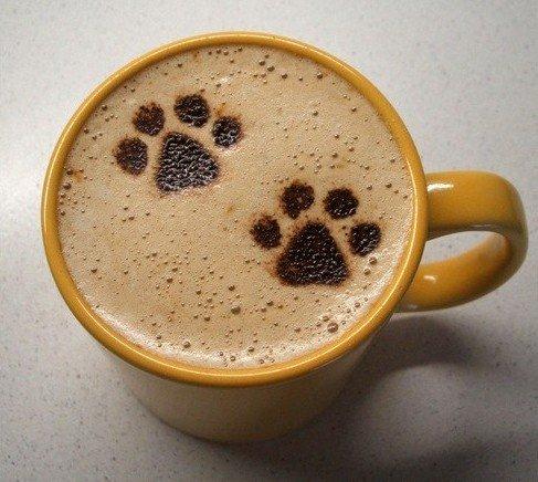 Латте-арт (рисунки на кофе) — фото 23