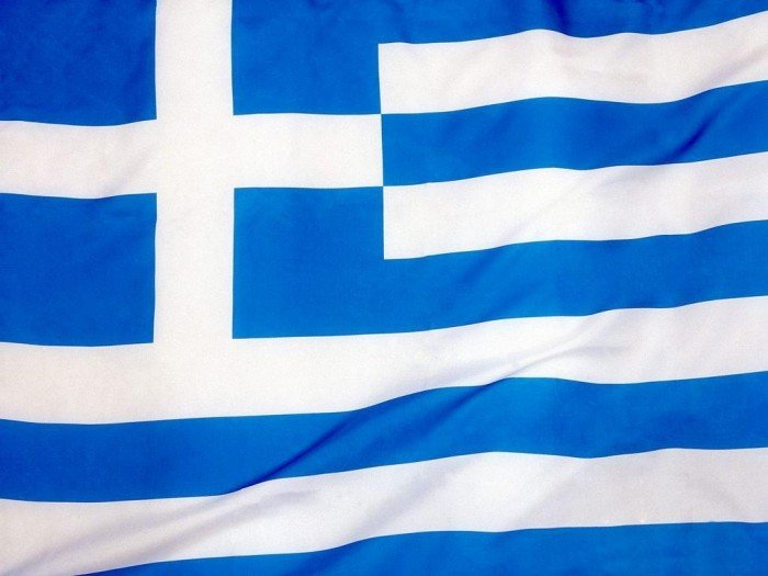 Національний прапор Греції