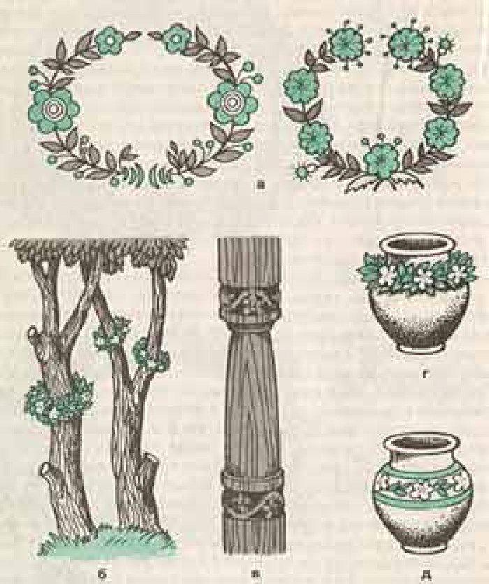 традиційний український вінок схеми
