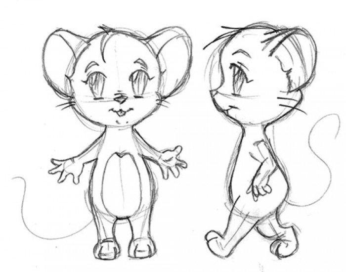 Как нарисовать мышку поэтапно, фото 20