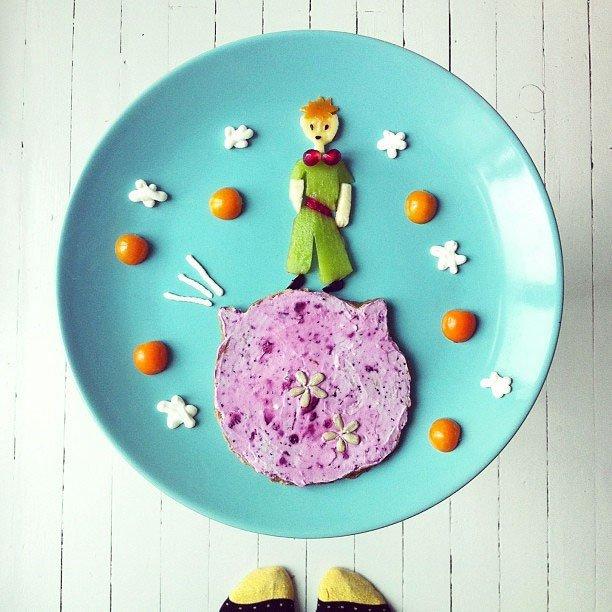Креативные и полезные завтраки для детей - фото 8