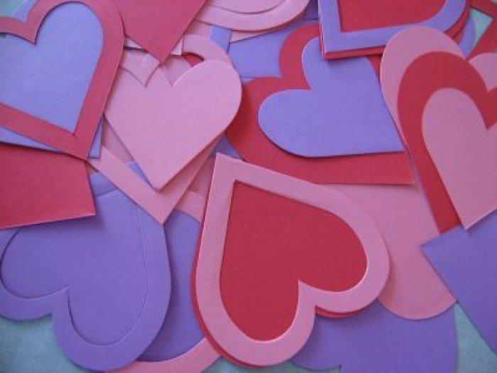 Валентинка з паперу своїми руками, фото 1